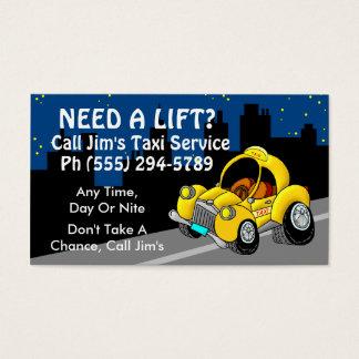 Cartes De Visite Service de taxi