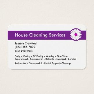 Cartes De Visite Services professionnels de nettoyage