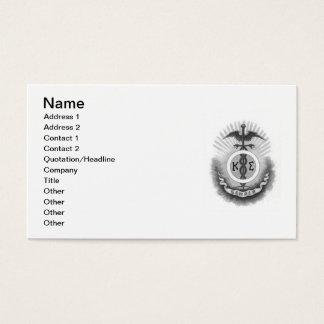 Cartes De Visite Sigma de Kappa