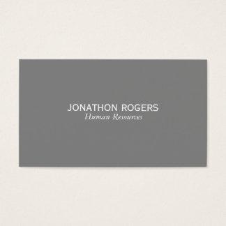 Cartes De Visite Simple (gris)