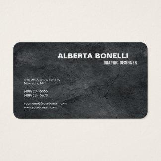 Cartes De Visite Simple gris minimaliste élégant simple moderne