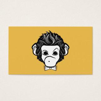 Cartes De Visite singe de Monsieur