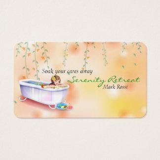 Cartes De Visite Spa de relaxation