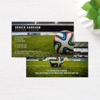 Cartes De Visite Sports professionnels du car   du football