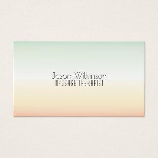 Cartes De Visite Style exotique lumineux et minimal