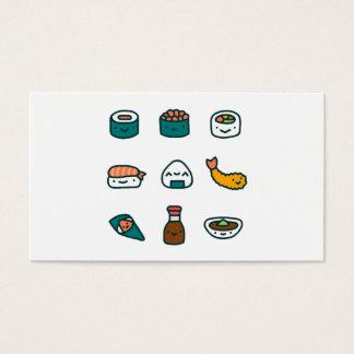 Cartes De Visite Sushi - aléatoires