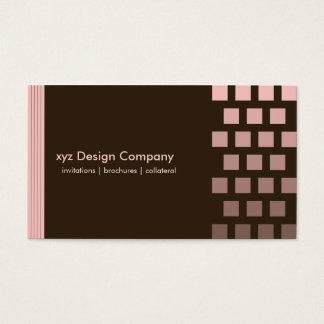 Cartes De Visite {Tba} Chocolat fait sur commande moderne/carte de