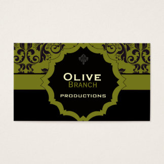 Cartes De Visite <TBA WINNER>Jus olive