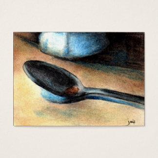 Cartes De Visite Télécarte de cuillère à café