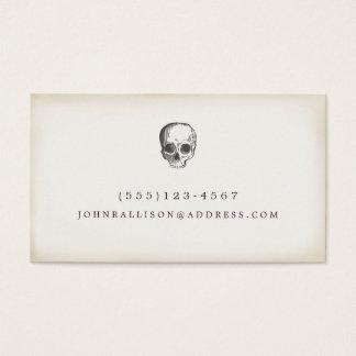 Cartes De Visite Télécarte rustique tirée par la main fraîche de