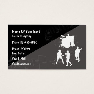 Carte De Visite Groupe Musique