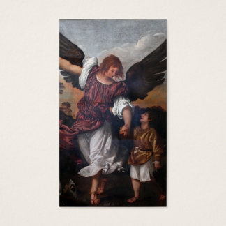 Cartes De Visite Tobias et Raphael d'Arkhangel - Titian