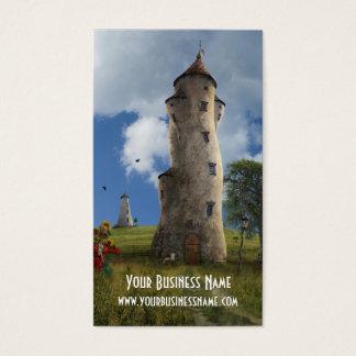Cartes De Visite Tours de Cardwith d'affaires d'imaginaire