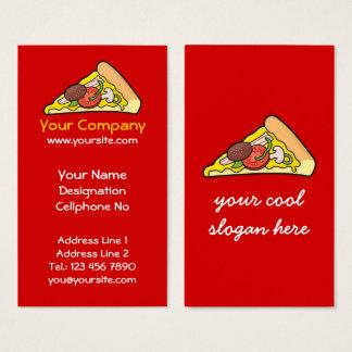 Cartes De Visite Tranche de pizza