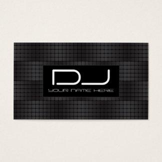 Cartes de visite urbains du DJ de hip hop