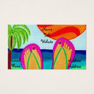 Cartes De Visite Vacances d'été