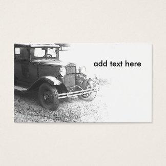 Cartes De Visite vieille voiture ancienne