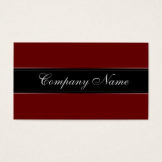 Cartes De Visite Vin rouge élégant de simplicité
