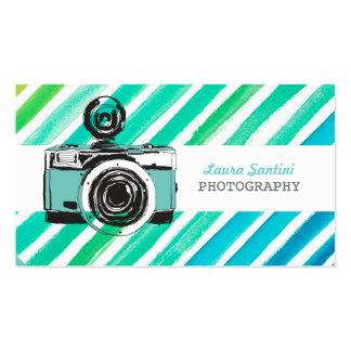 Cartes de visite vintages de photographe d'apparei carte de visite standard