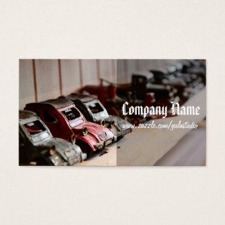 Cartes De Visite Voitures rouges vintages