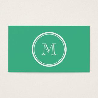 Cartes De Visite Votre à extrémité élevé vert en bon état initial