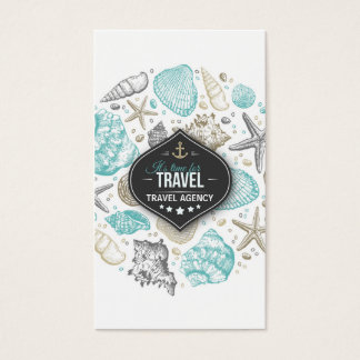 Cartes De Visite Voyage de mer de vacances de vol de directeur