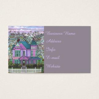 Cartes De Visite Vrai agent immobilier de Chambre d'objet