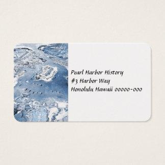 Cartes De Visite Vue aérienne au sud Pearl Harbor