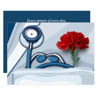 Cartes de voeux de Day Customizable de médecins