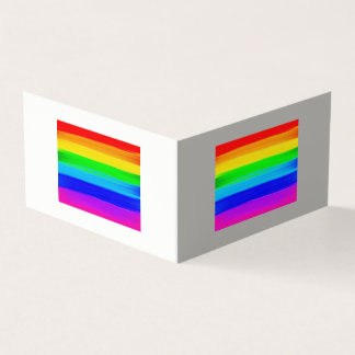Cartes de voeux de drapeau d'arc-en-ciel