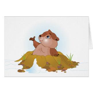 Cartes de voeux de Groundhog