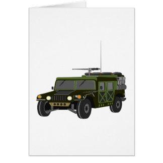 Cartes de voeux militaires de Hummer