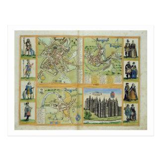 Cartes de York, de Shrewsbury, de Lancaster, et de