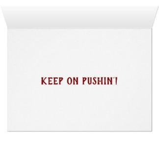 Cartes d'encouragement comportant le PJ !