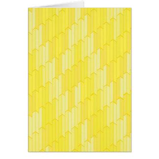 Cartes jaunes de nid d'abeilles