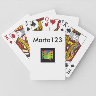 Cartes Marto123 Cartes À Jouer