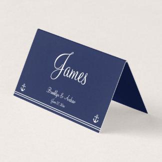 Cartes nautiques bleues d'allocation des places de