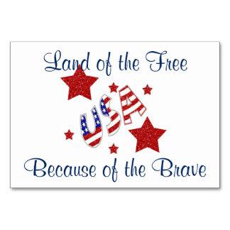 Cartes patriotiques de Tableau de vétérans de