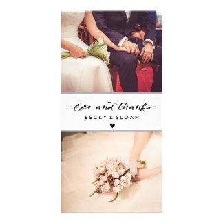Cartes photos d'amour et de mercis \ MARIAGES