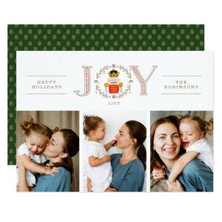Cartes photos de prince Holiday de casse-noix