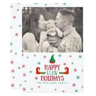 Cartes photos féeriques heureux de Noël de