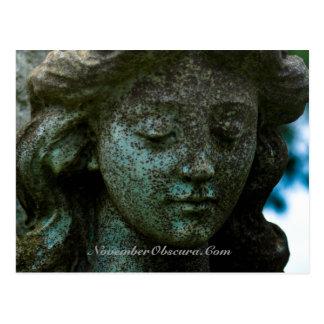 Cartes postales d'ange de cimetière