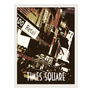 Cartes postales d'art de Times Square