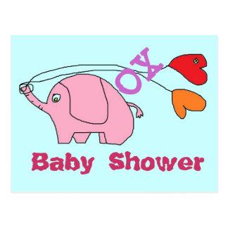 Cartes postales de baby shower