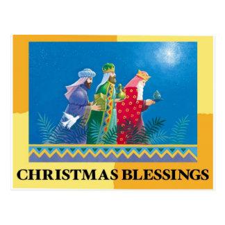Cartes postales de bénédictions de Noël