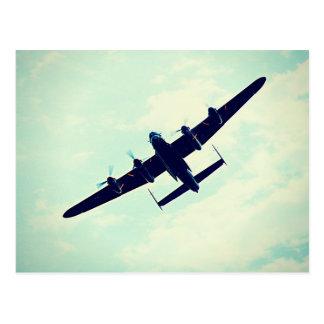 Cartes postales de bombardier de Lancaster