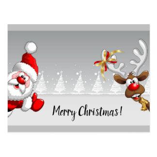 Cartes postales de Joyeux Noël