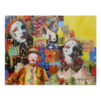 """Cartes postales """"de souvenirs de cirque"""""""