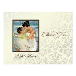 Cartes postales enes ivoire de photo de Merci de