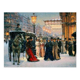 Cartes postales personnalisables de Noël de